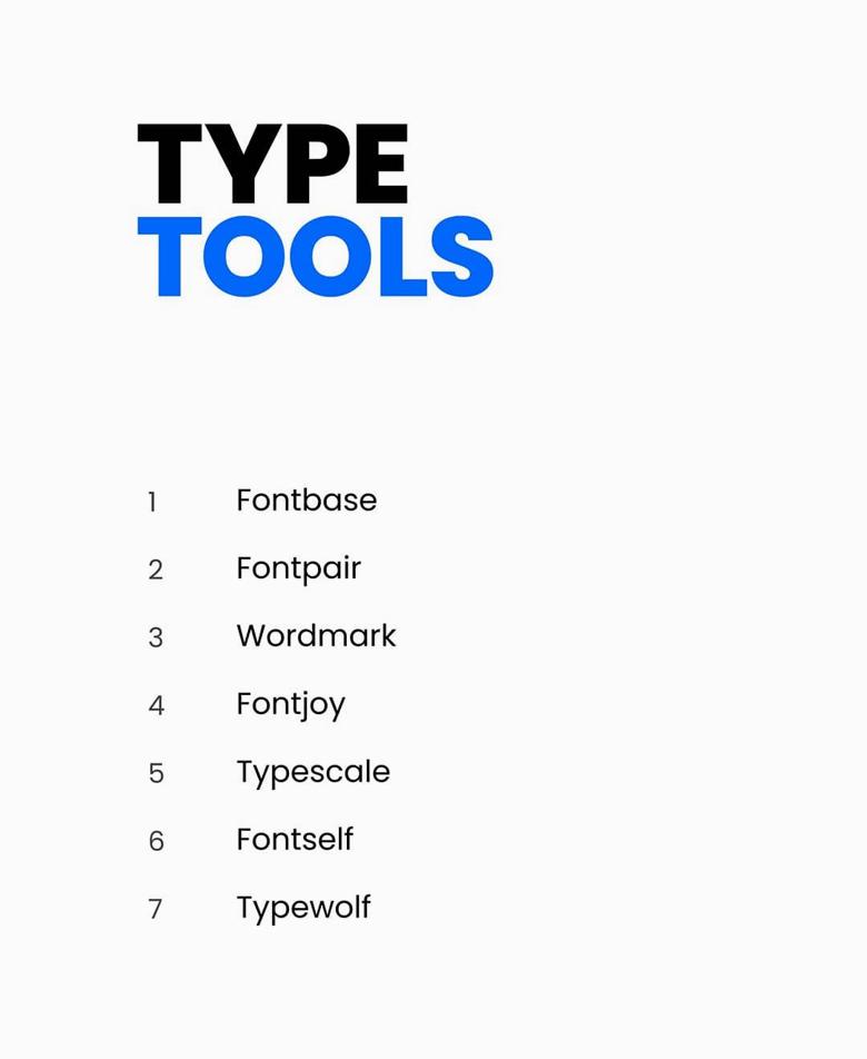 Type tools for logo designers