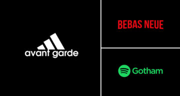 Graphic Designer Replaces Wordmarks In Famous Logos With The Fonts They Use