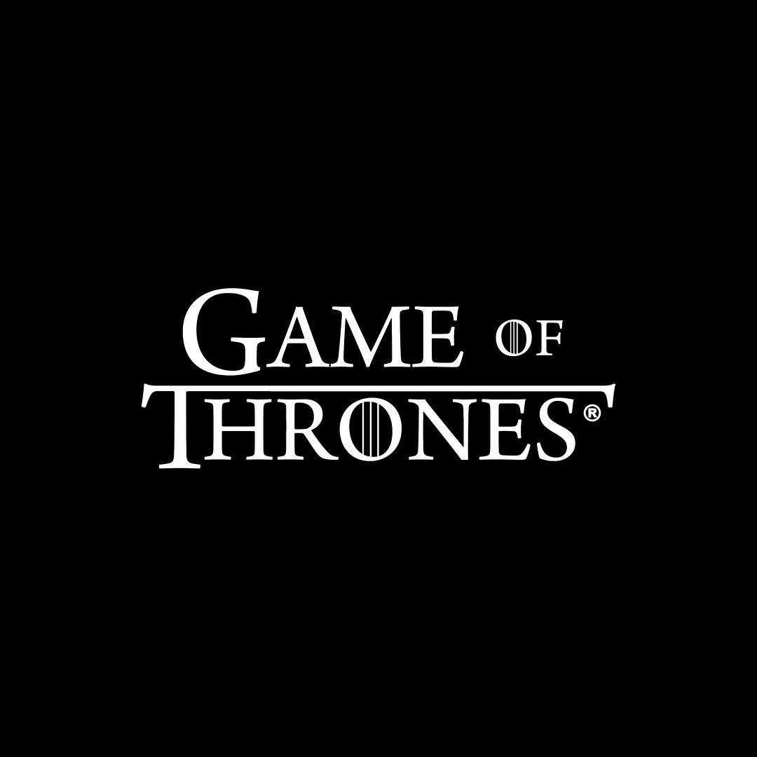 Fonts of Famous Logos - Game of Thrones