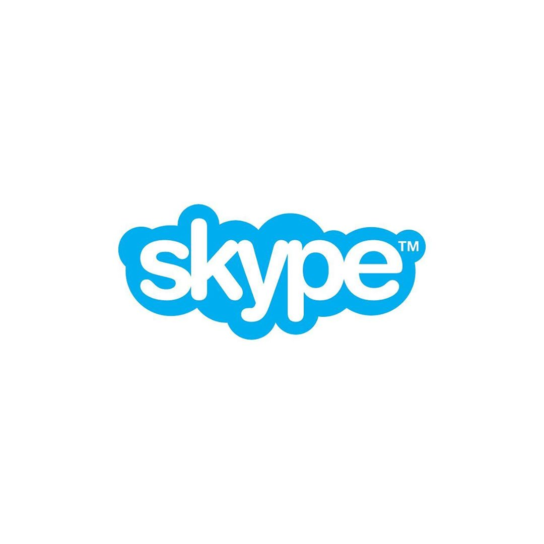 Fonts of Famous Logos - Skype