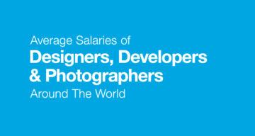 Average Salaries Of Designers, Developers, And Photographers Around The World