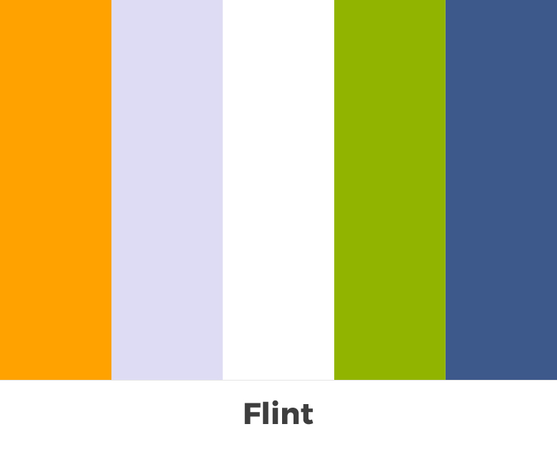 Create color palette from the letters of your name - Flint