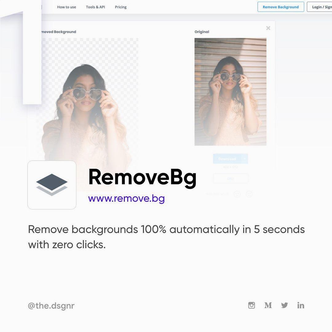 AI Tools For Designers - Remove.bg