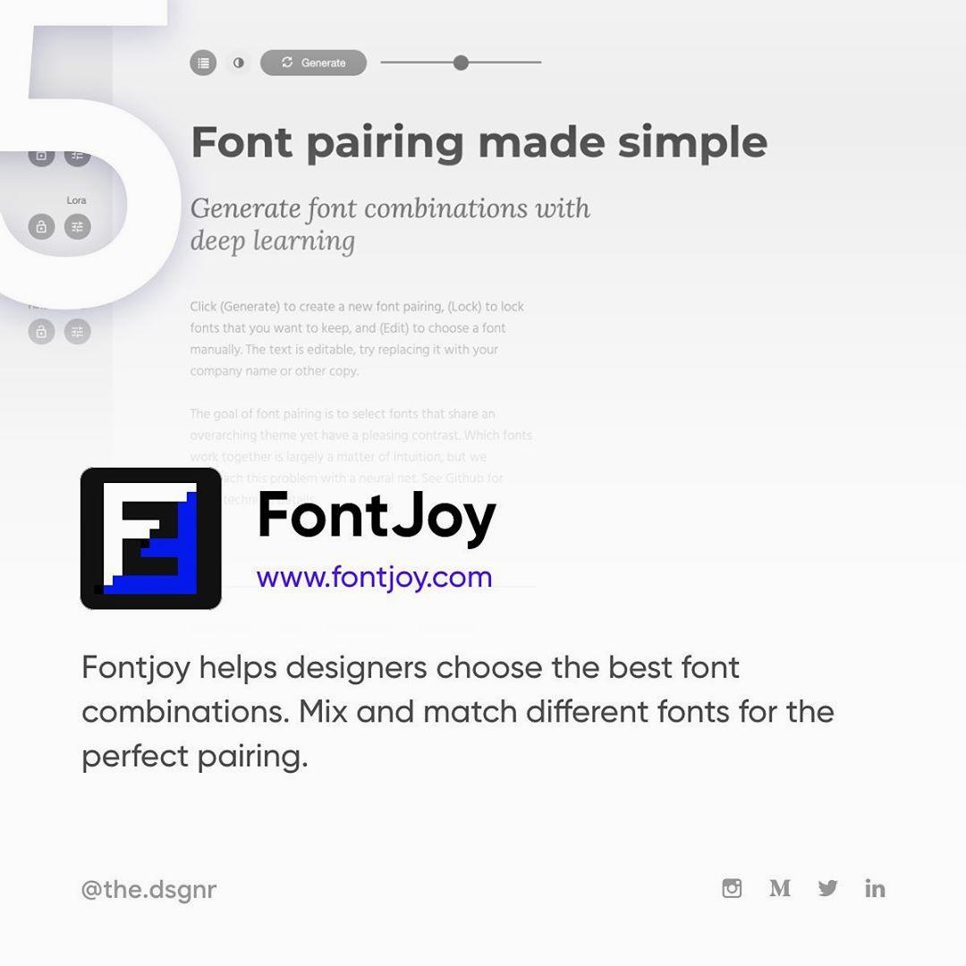 AI Tools For Designers - FontJoy.com