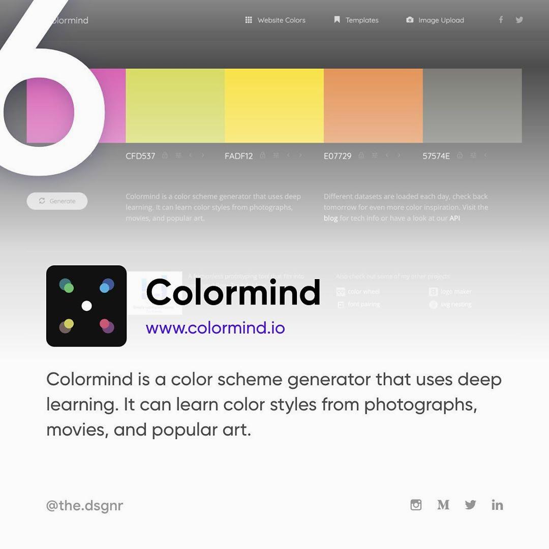 AI Tools For Designers - Colormind.io
