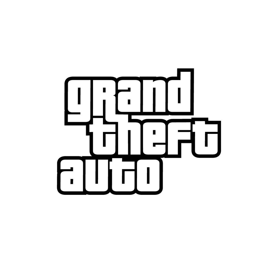 Fonts used in Famous Logos - Grand Theft Auto