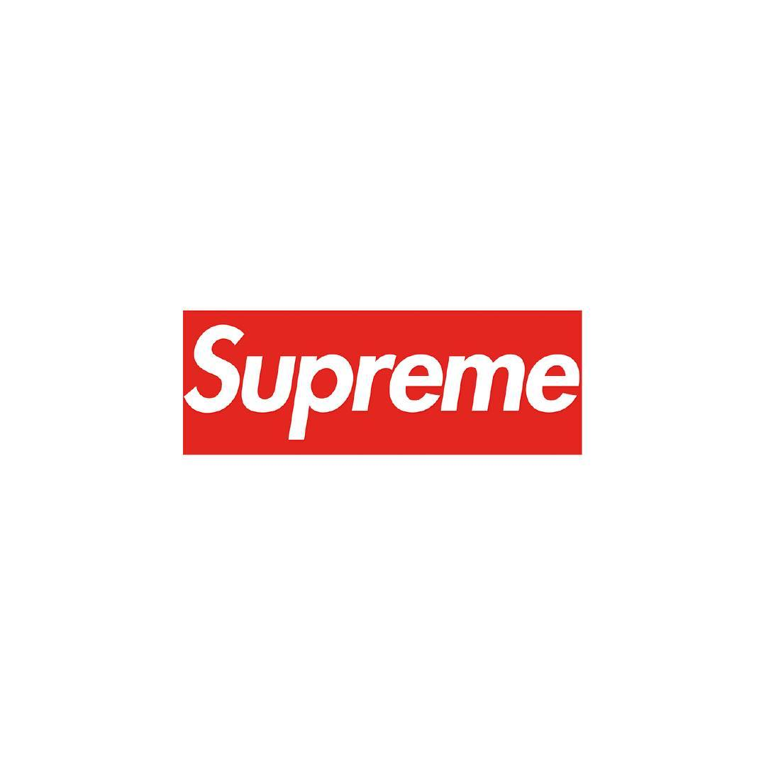 Fonts used in Famous Logos - Supreme