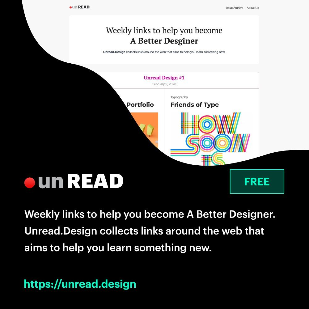 Free, Useful Design Tools - Unread.Design