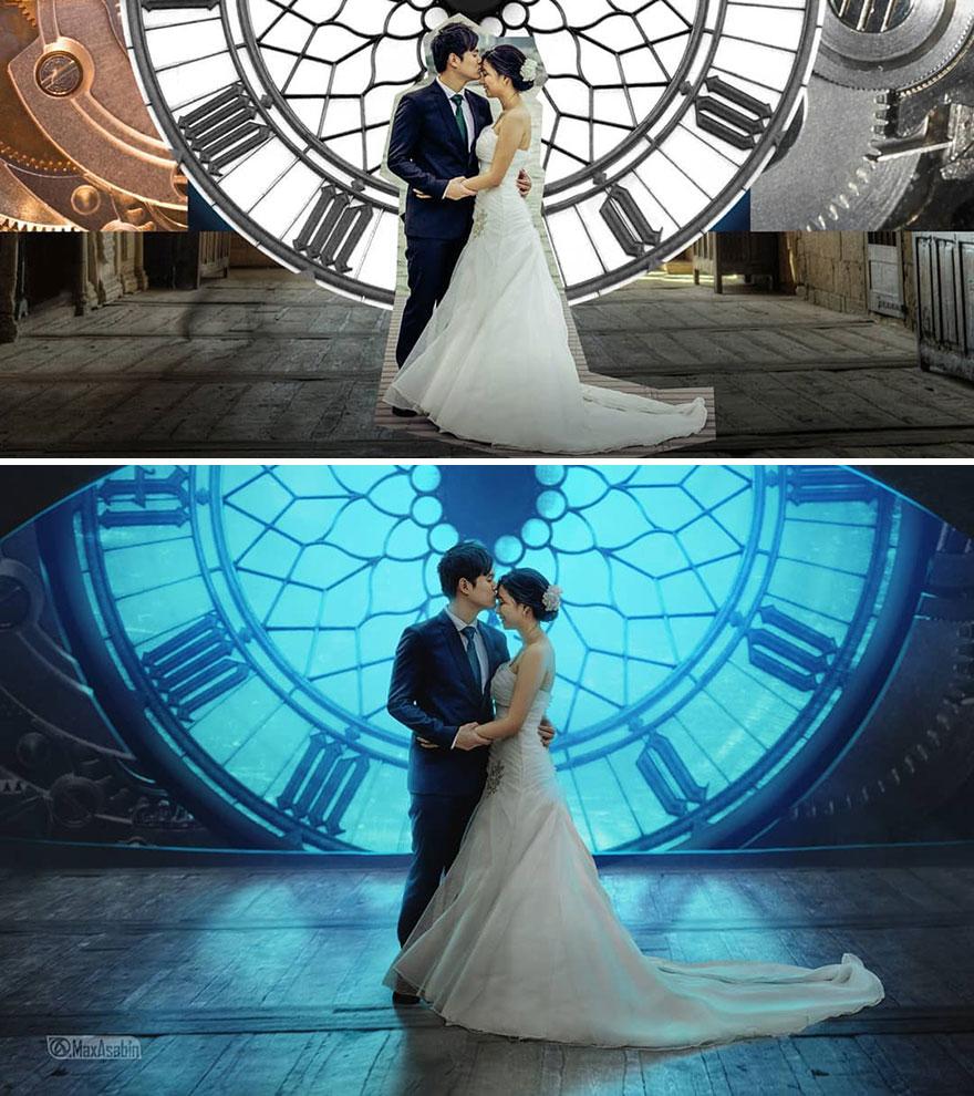 Photoshop editing, retouching, digital art by Max Asabin - 15