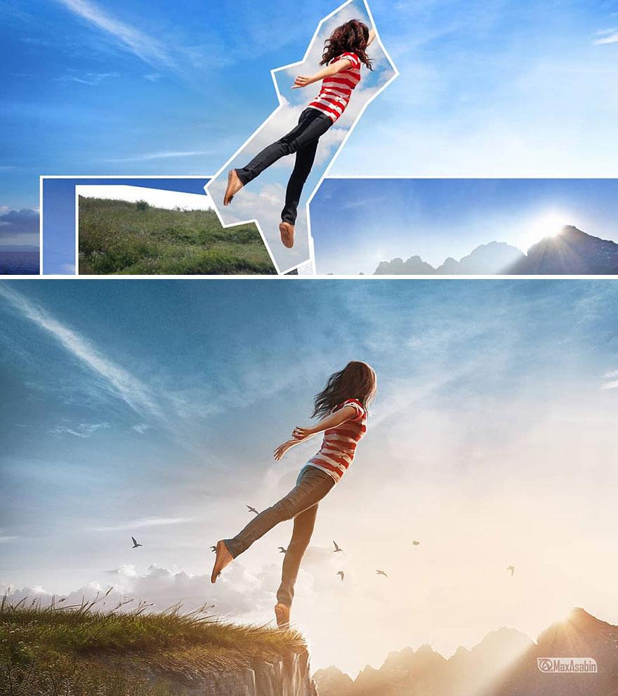 Photoshop editing, retouching, digital art by Max Asabin - 22