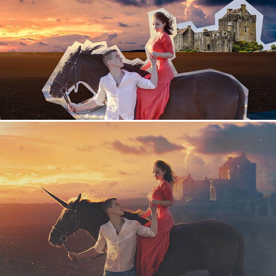 Photoshop editing, retouching, digital art by Max Asabin - 23