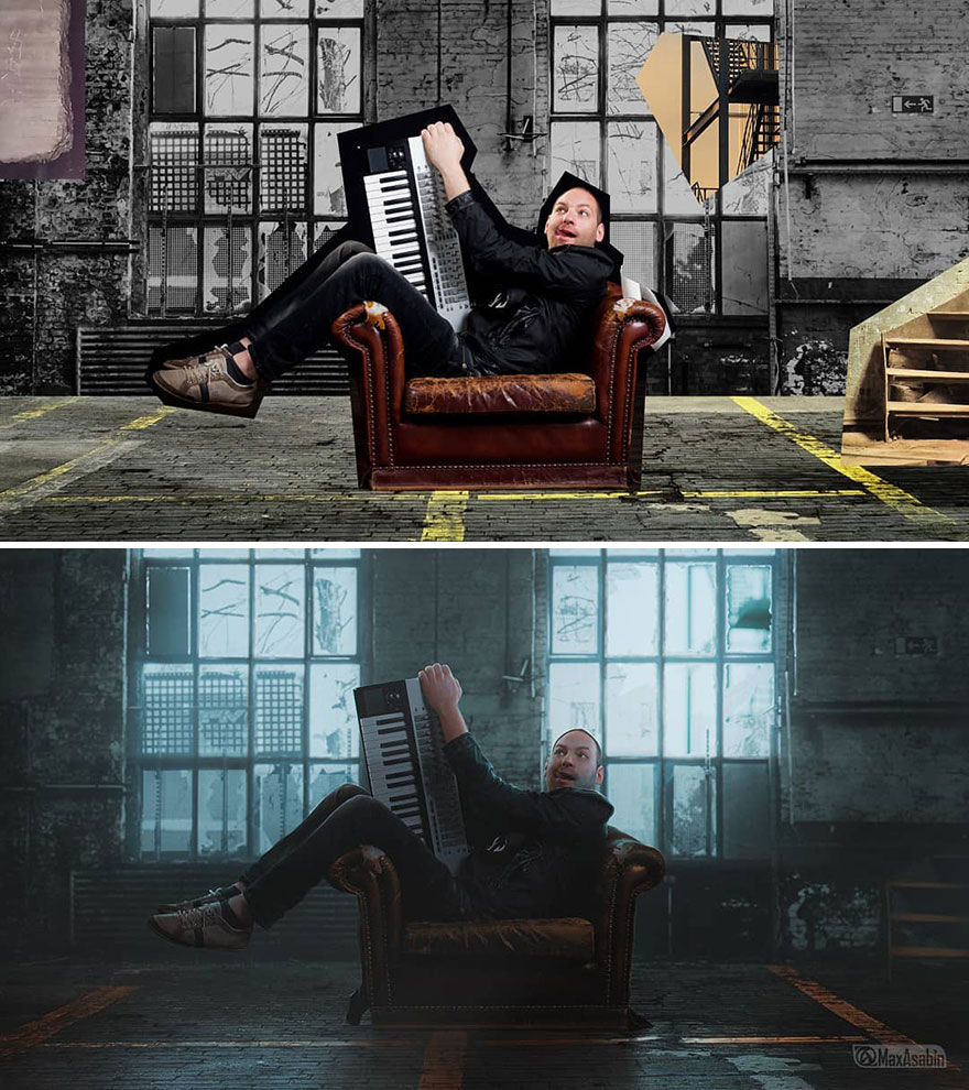 Photoshop editing, retouching, digital art by Max Asabin - 25