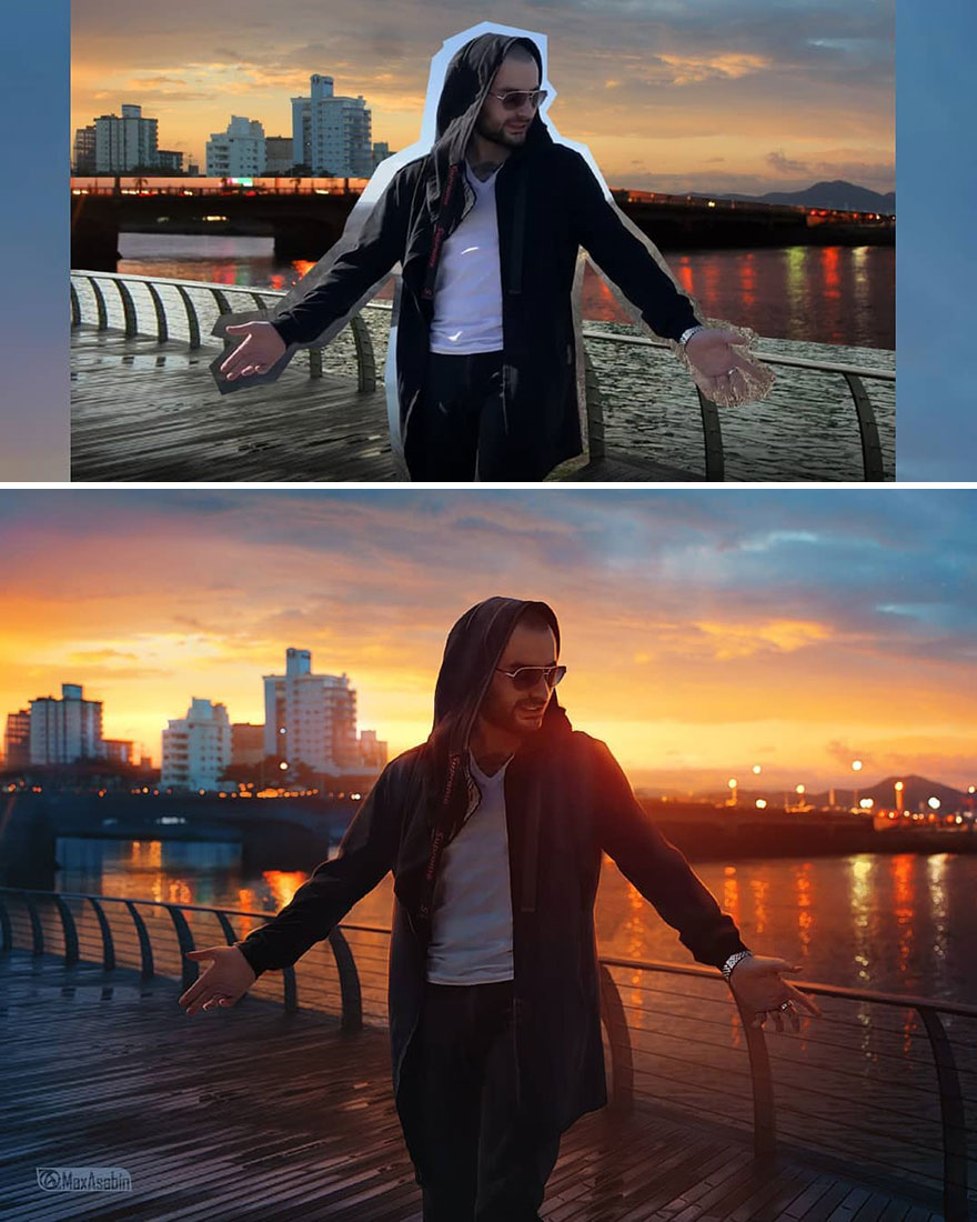 Photoshop editing, retouching, digital art by Max Asabin - 31