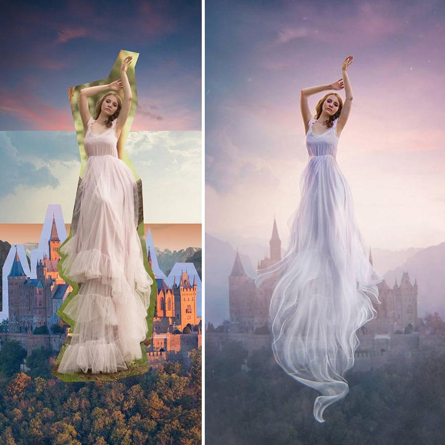 Photoshop editing, retouching, digital art by Max Asabin - 5