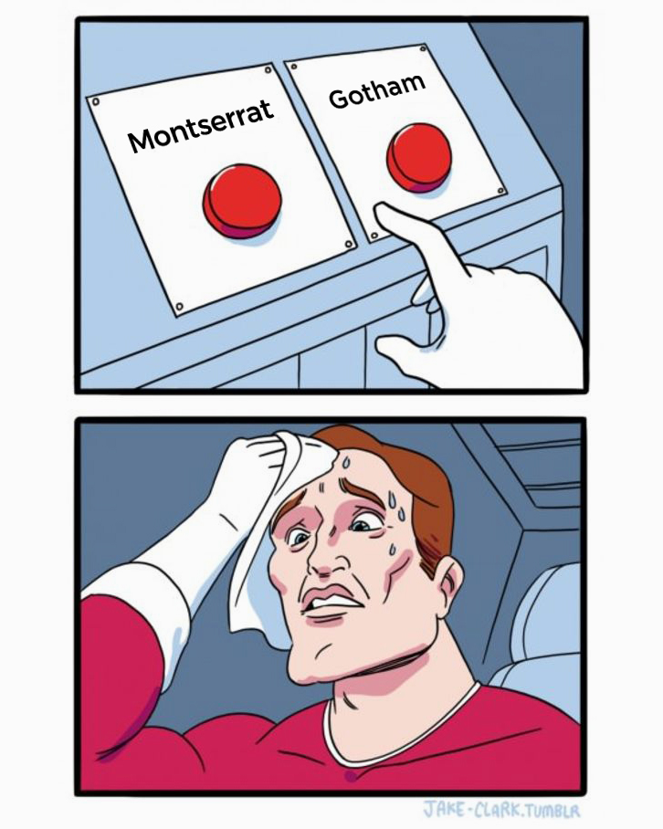 Montserrat or Gotham - which font should I choose?