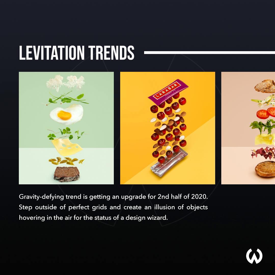 Graphic Design Trends 2020 - Levitation