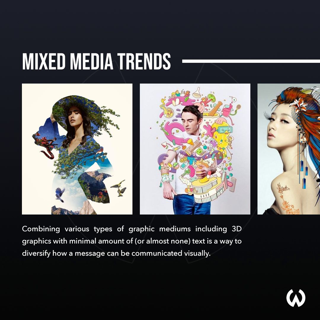 Graphic Design Trends 2020 - Mixed Media