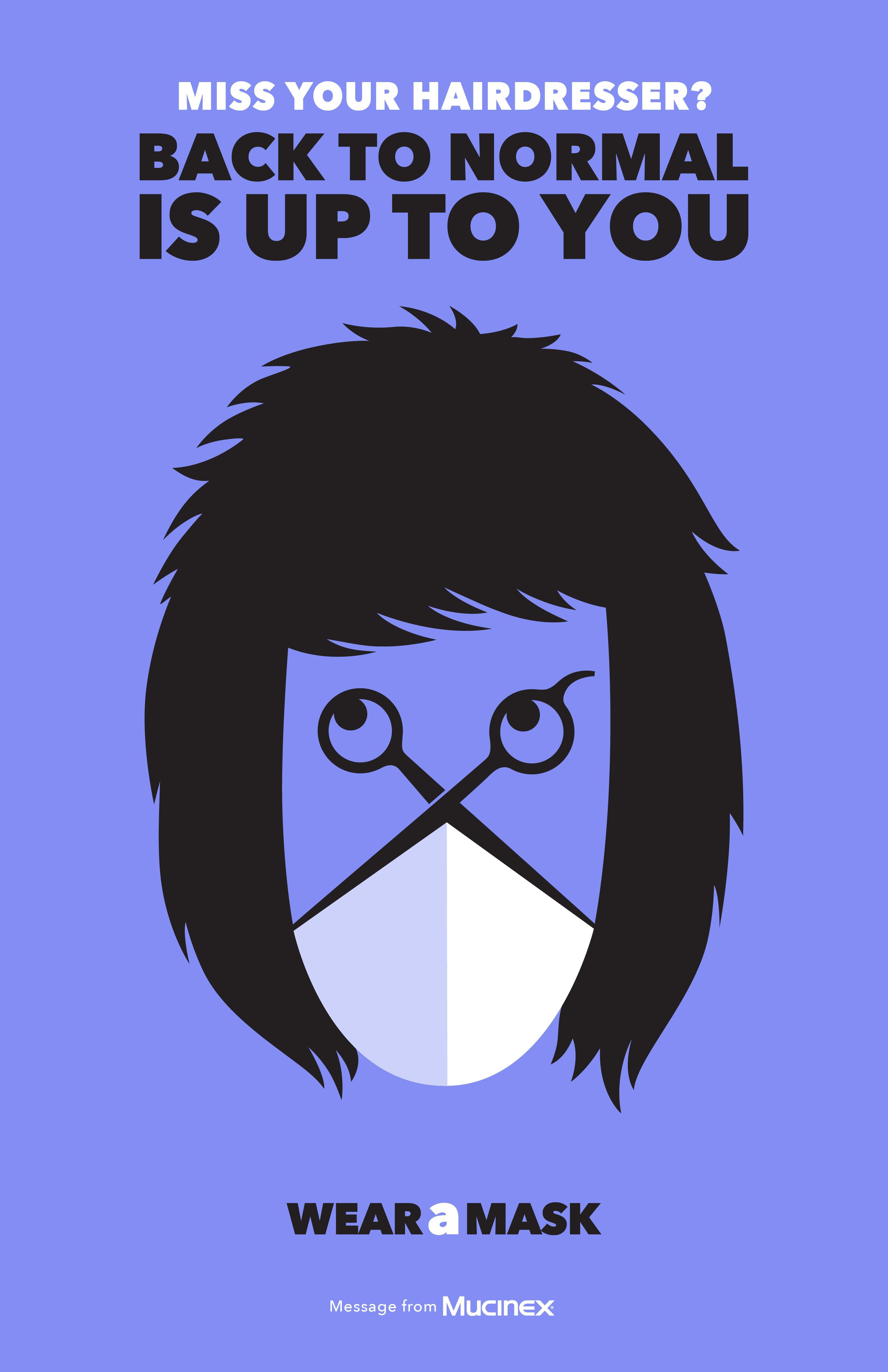Mucinex - Wear a mask (Haircut)