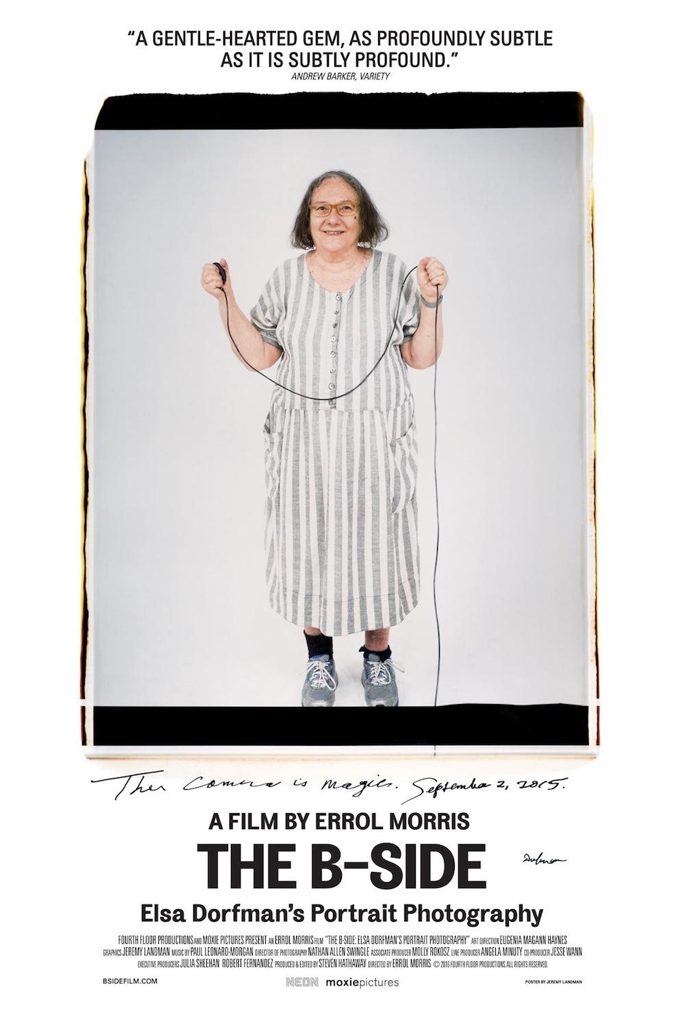 Netflix Documentaries for Graphic Designers - The B-Side: Elsa Dorfman's Portrait Photography