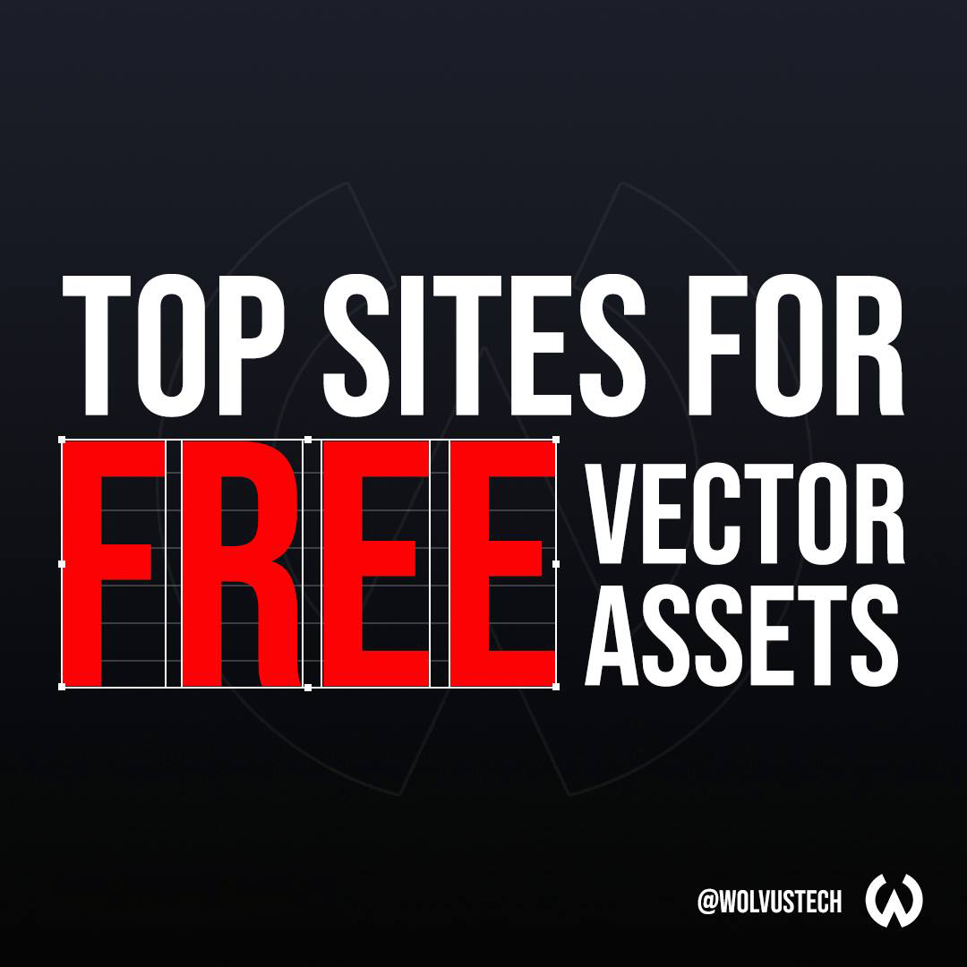 Top sites for free vector assets