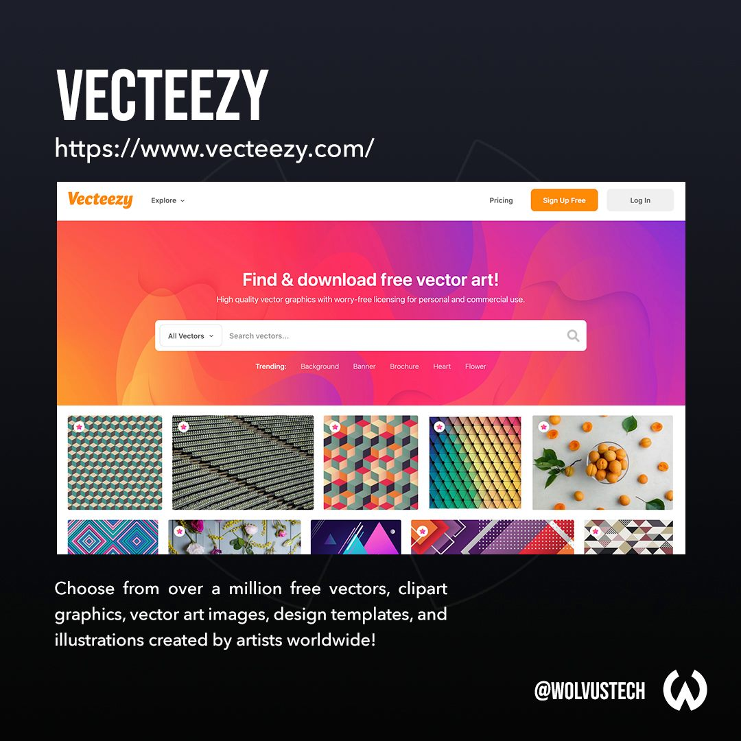 Top sites for free vector assets - Vecteezy.com