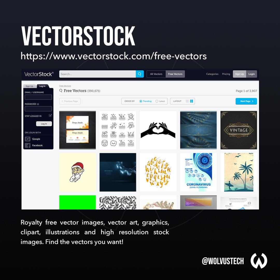 Top sites for free vector assets - VectorStock.com