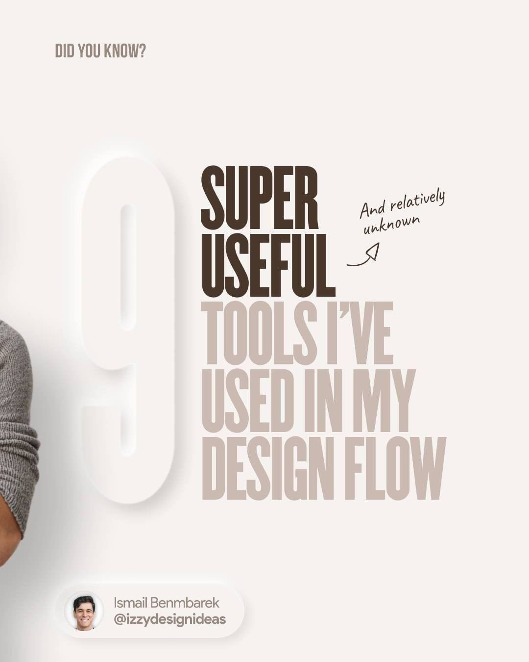 9 super useful tools I've used in my design flow