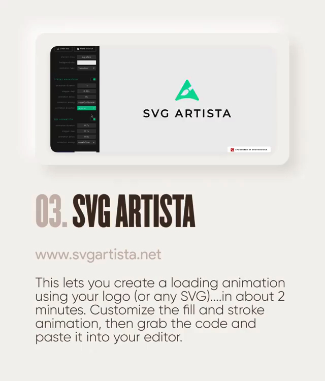 Useful design tools - SVG Artista
