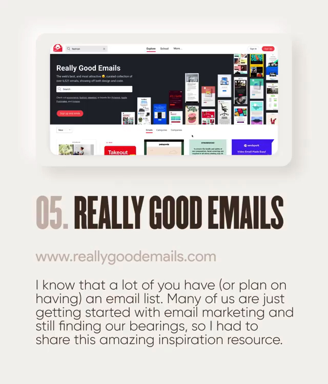 Useful design tools - ReallyGoodMails.com