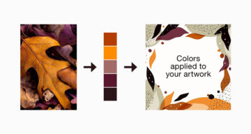 New Feature In Illustrator Can Extract Colors From An Image And Apply Them To Your Vector Artwork