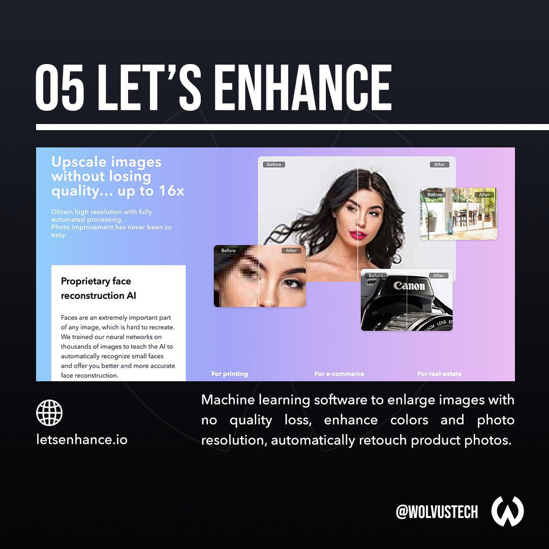 Useful AI tools for designers - LetsEnhance.io