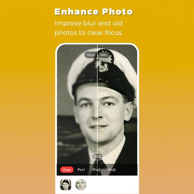 Remini App - Enhance Photo