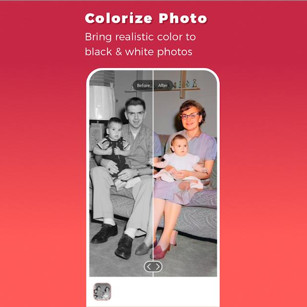 Remini App - Colorize Photo