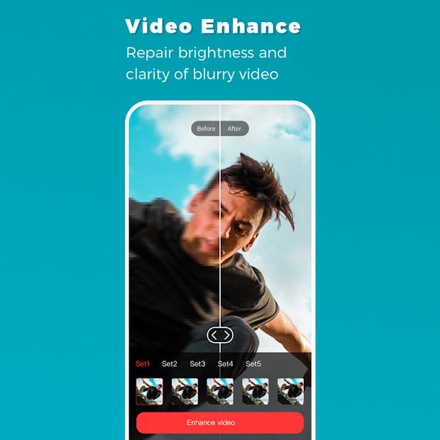 Remini App - Video Enhance