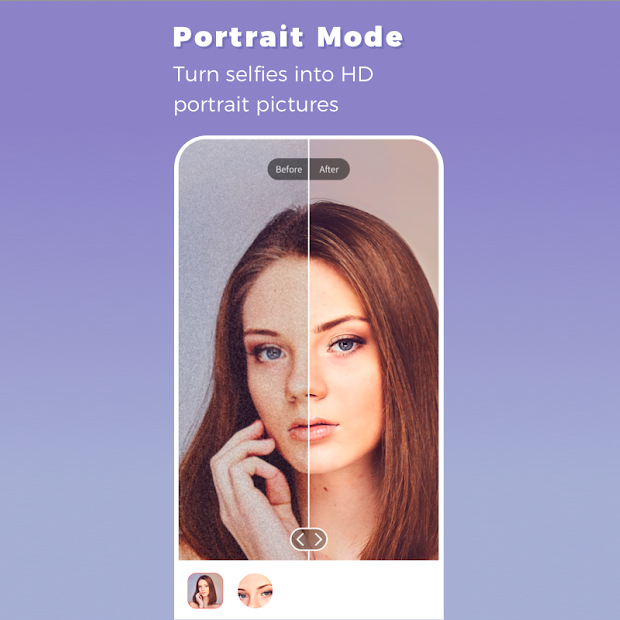 Remini App - Portrait Mode