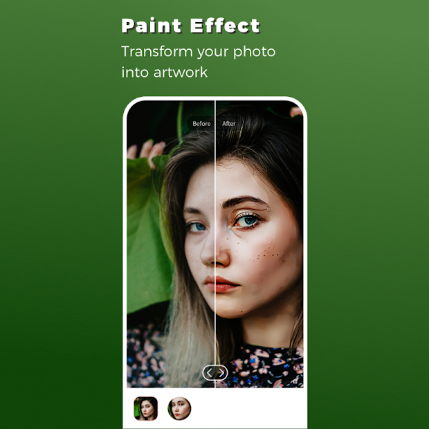 Remini App - Paint Effect
