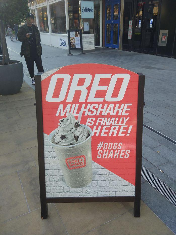 Funny Letter-Spacing & Kerning Fails - Oreo Milkshake is finally here