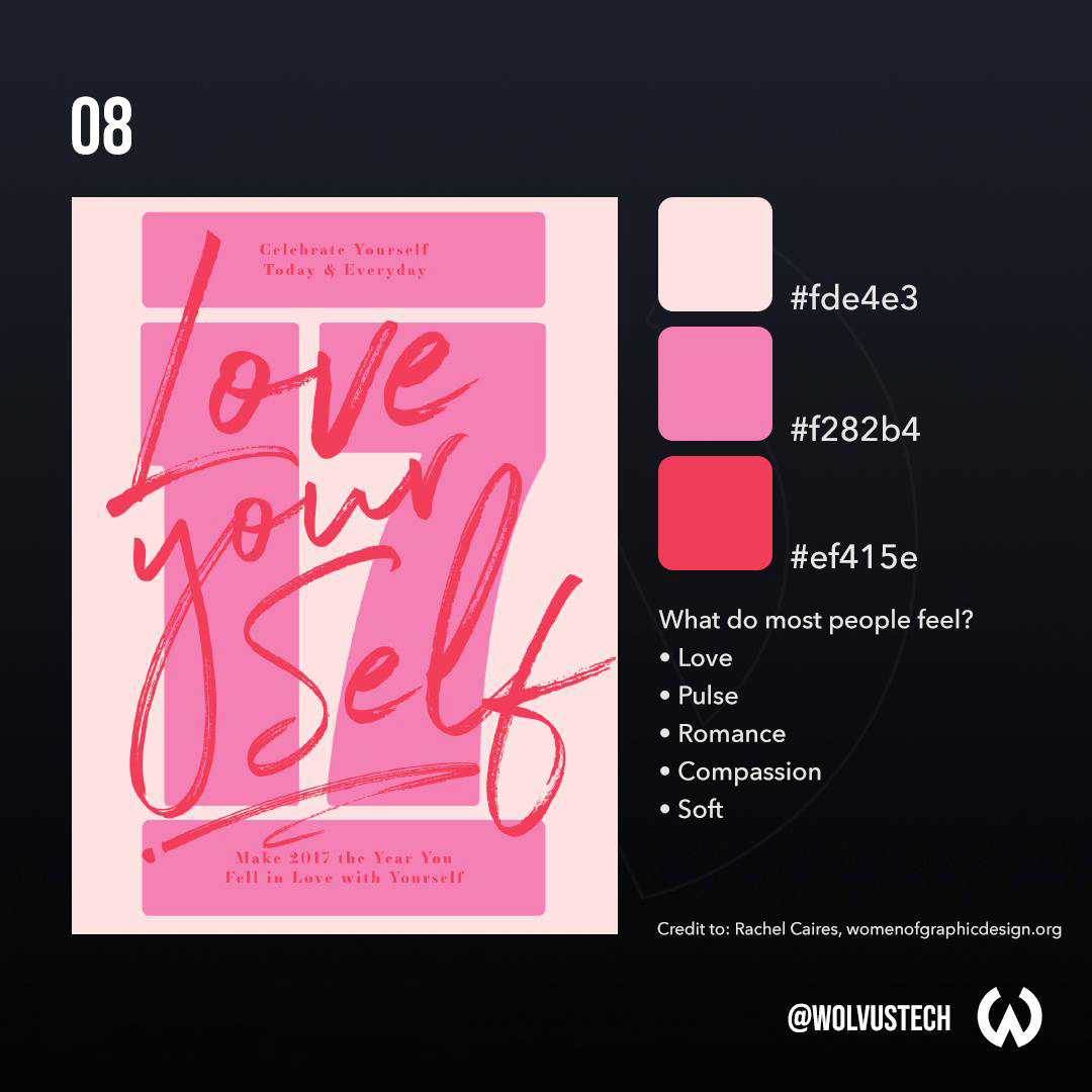Red, Pink, Peach Color Palette, Combination, Scheme