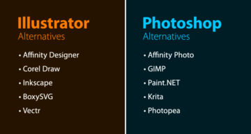 Free And Cheaper Alternatives To Photoshop, Illustrator, And Other Adobe Creative Software