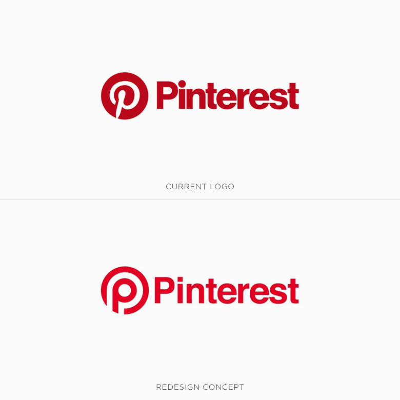 Famous logos redesigned & rebranded concepts - Pinterest