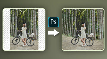 how to extend photos in photoshop