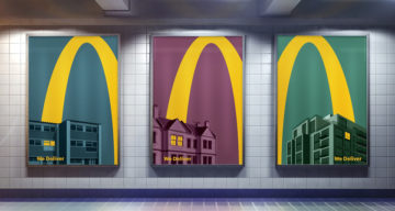 McDonald's Iconic Logo Is So Recognizable, Only Half Is Enough In These Brilliant Home Delivery Ads