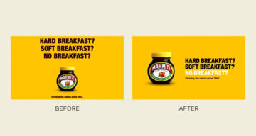 Graphic Designer Improves Professional Ads By Simply Changing The Typography