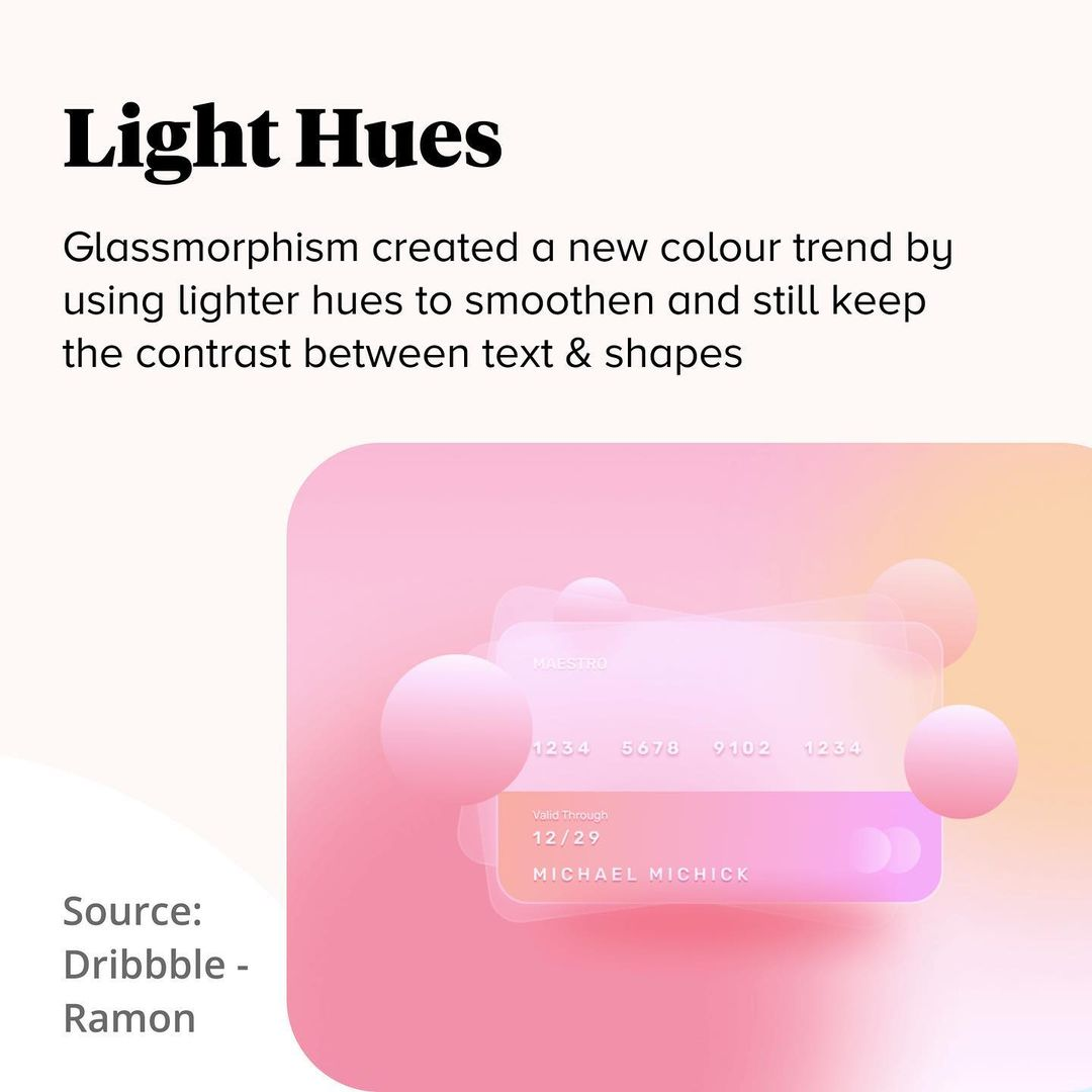 2021 Color Trends - Light Hues