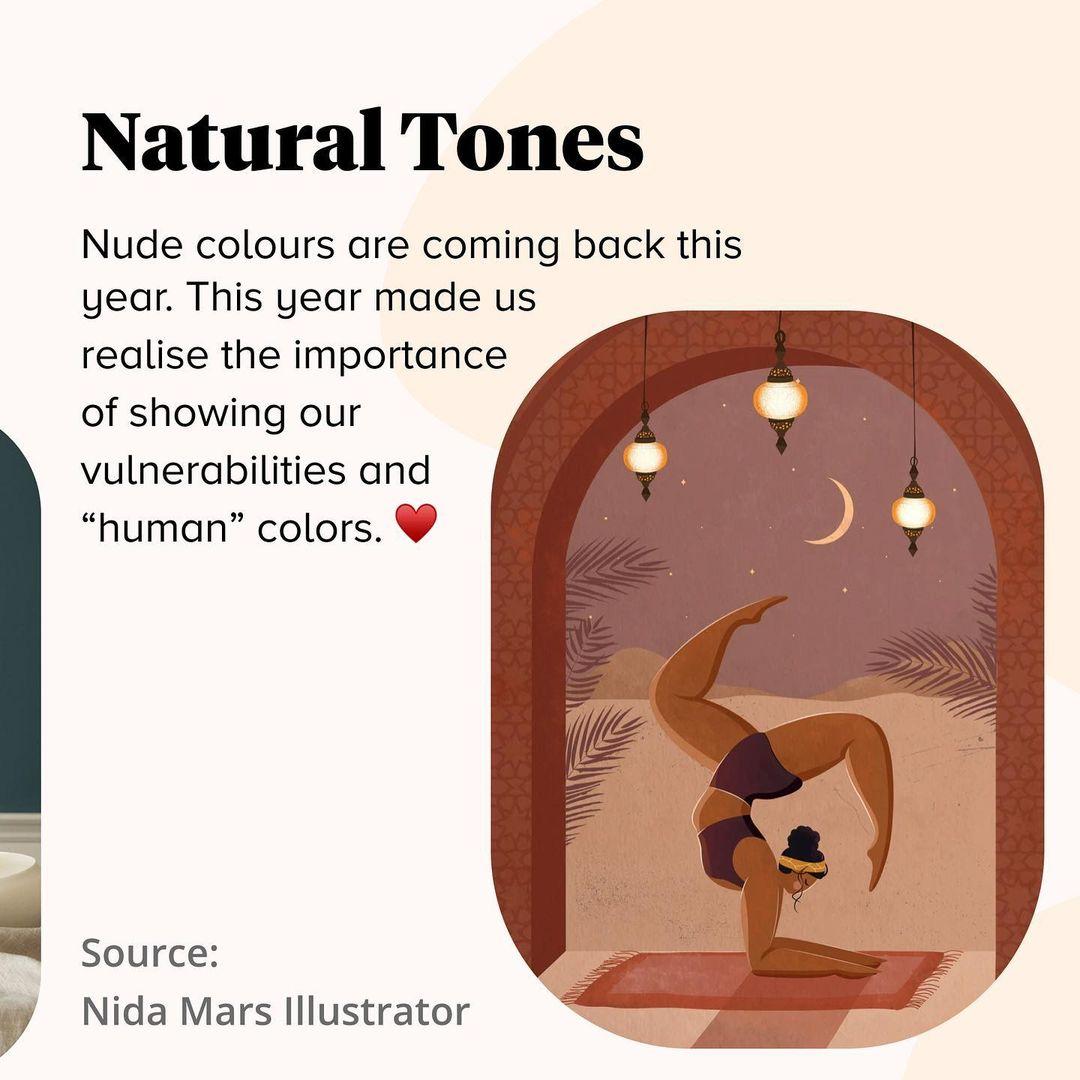 2021 Color Trends - Natural Tones