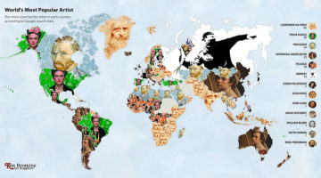 most-popular-artists-in-the-world