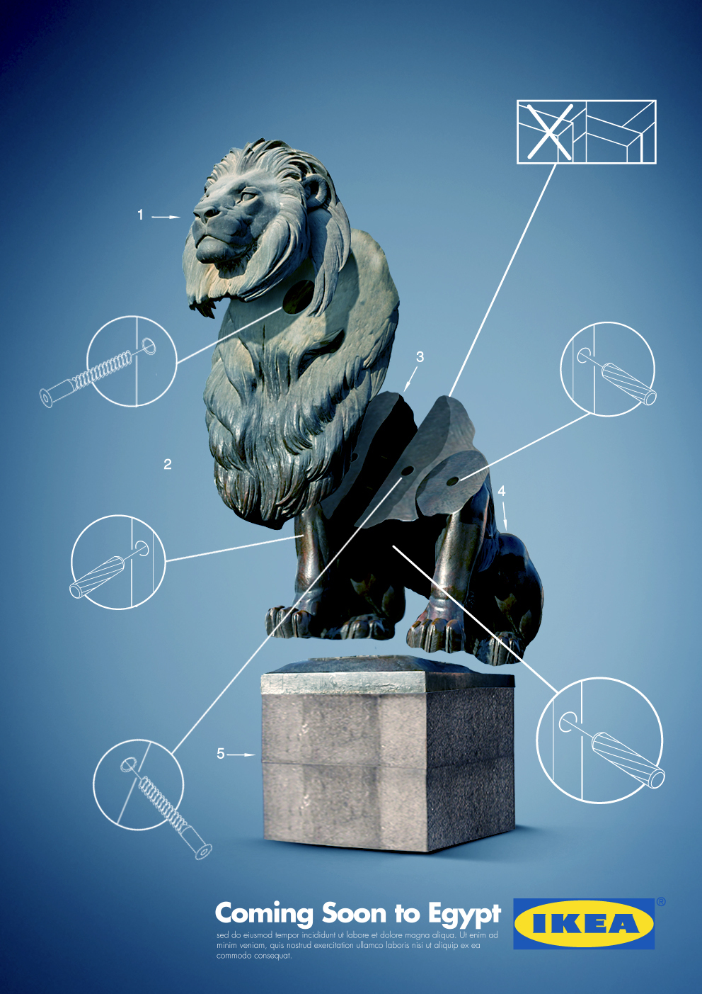 IKEA - Coming soon to Egypt (Lion)