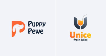 Design Studio Creates Clever Logos By Combining Different Shapes And Letters Into One