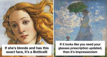 Art Historian Shares Hilarious Tips That Will Make You An Art Expert