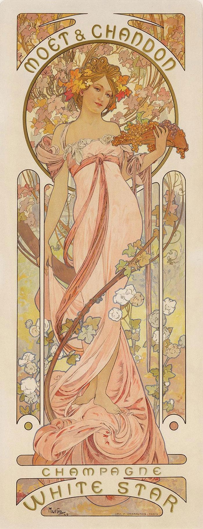 """If it looks like a Cottagecore pin-up girl, then its Art Nouveau"""